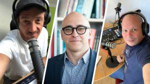 Daniel Gollner, Prof. Martin Wagner und Georg Holzer